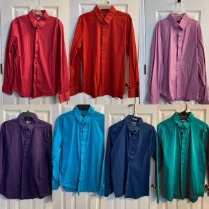 7 express button down shirts